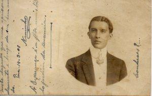 14 de Março de 1908 - Retrato de Naninho