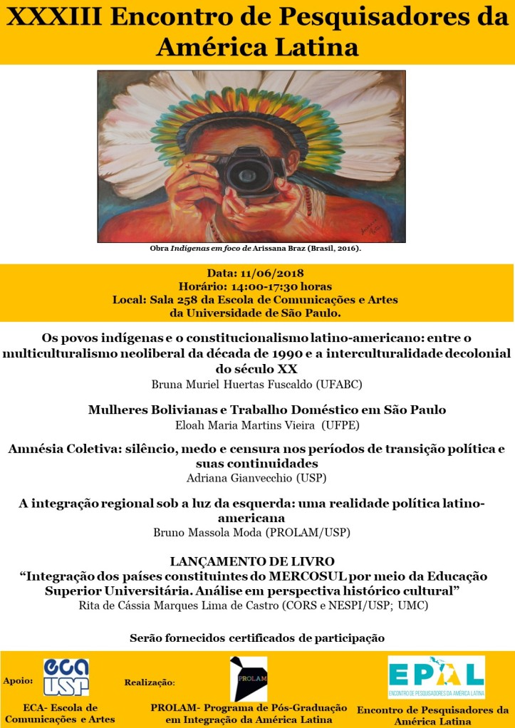 cartaz XXXIII EPAL